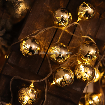 10L 20 LED  Christmas Ball  Lights