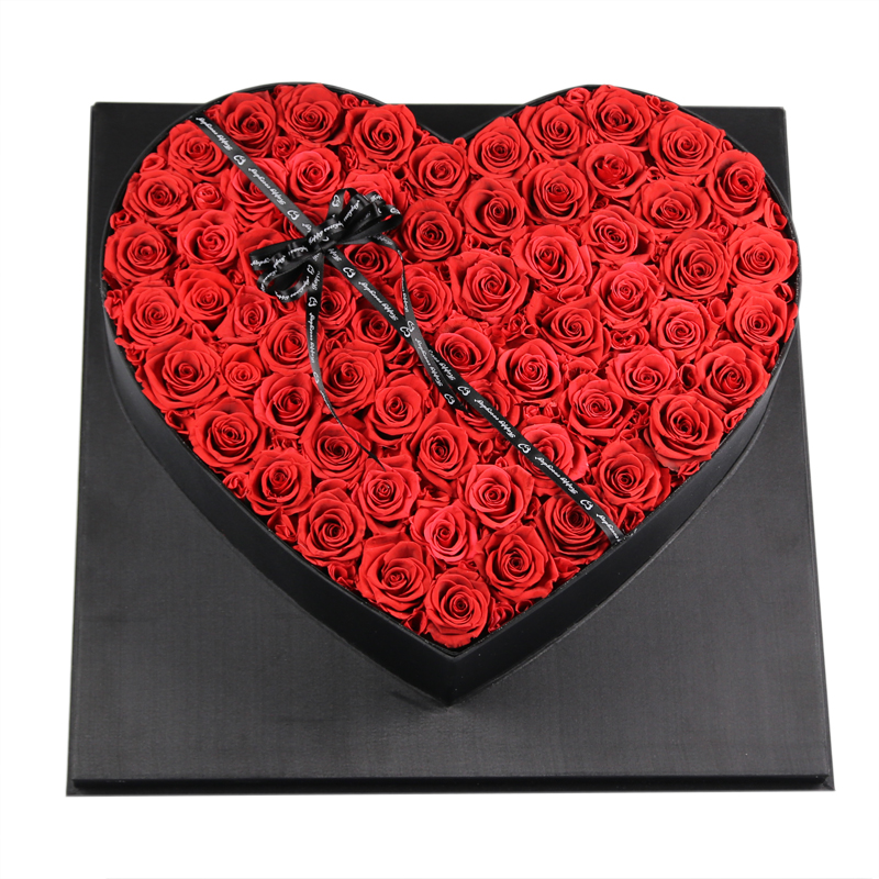 Best birthday gift eternal <strong>rose</strong> preserved flowers in gift box Valentine's Day forever flower <strong>roses</strong> <strong>head</strong>