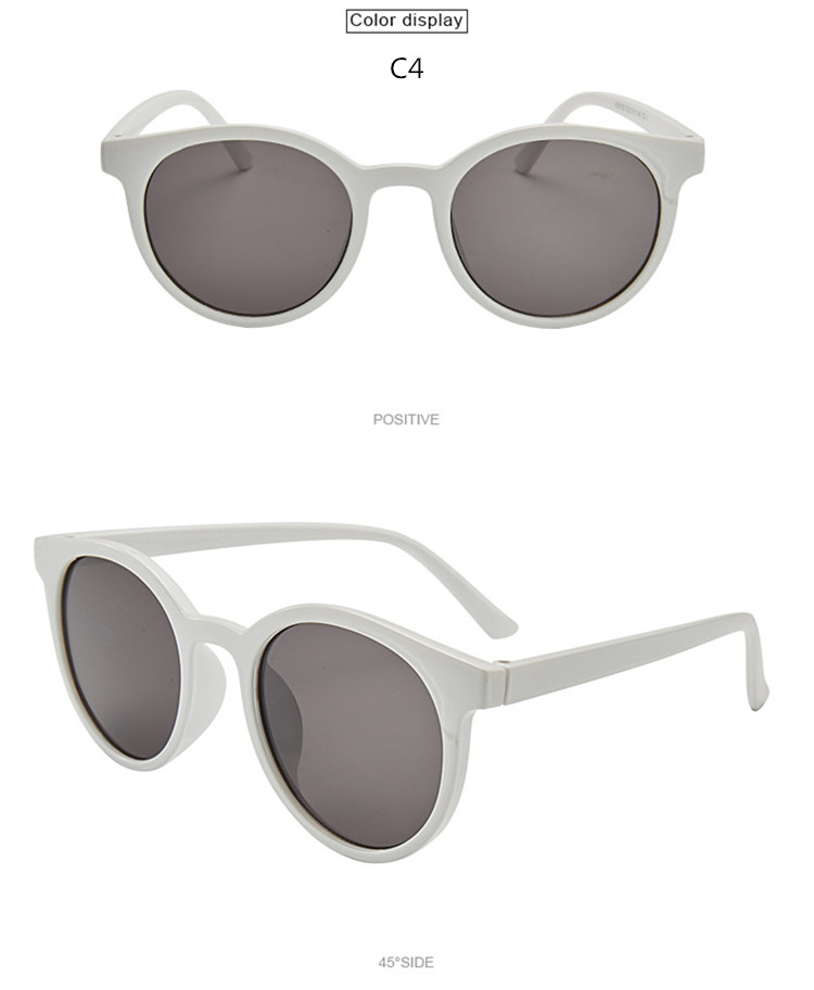 2020 Promotional cheap price uv 400 protection women vintage round sun glasses sunglasses