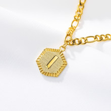 Браслет из нержавеющей стали для женщин, браслет из нержавеющей стали с буквами «Алфавит» для подарка на Рождество, браслет для ног, Прямая ...(Китай)