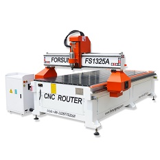 Hot selling 4 axis 1325 automatic tool change cnc router woodworking milling machine