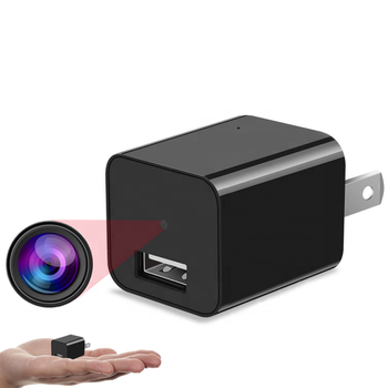 Mini 32G 1080p Home Security Wireless Hidden USB Wall Charger Spy Camera