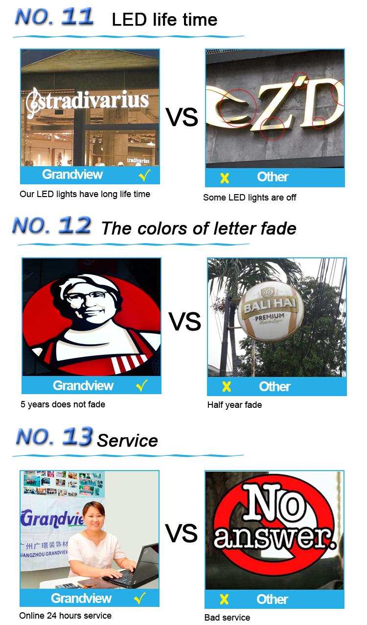 CBD loja tapeçaria led publicidade signage sinal iluminado letras de canaleta