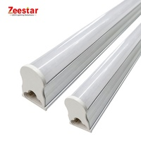 waterproof 10000k 1200mm 12w 20w 5 ft 4ft t5 white milky cover fixture led tube light