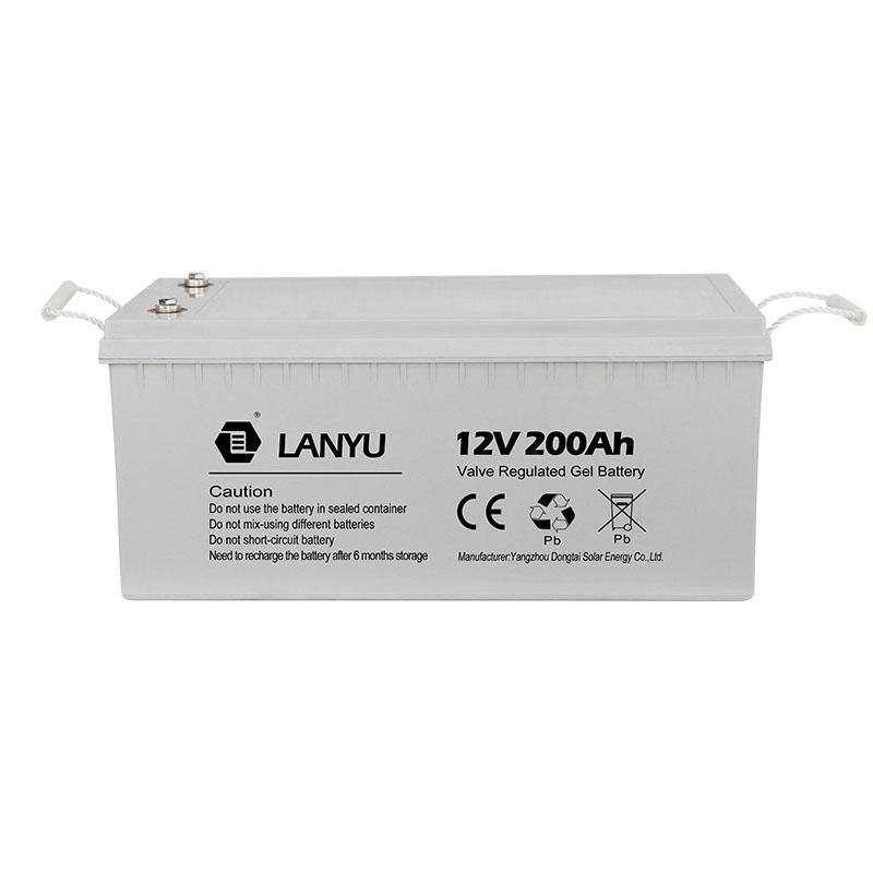 200 ampères-heure batterie profonde de cycle d'agm/LANYUGB298