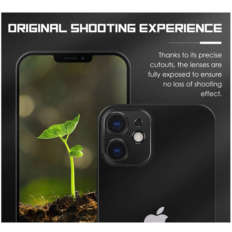 MoKo [2-Pack] High Definition Camera Lens Protector for iPhone 12 Mini 5.4 inch 2020