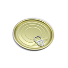 73mm eoe easy open end lids for tomato cans top