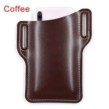 Винтажная Сумка-ремень для одежды, поясная сумка, мужская повседневная Дизайнерская кожаная поясная сумка в стиле ретро, сумка для женщин, с...(Китай)