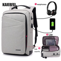 Hot Selling brand Waterproof USB Charging bagpack Notebook Laptop Back pack leisure travel USB Backpack bag for men