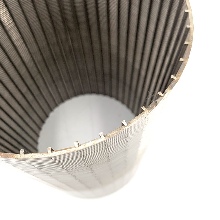 Stainless Steel Water Well V Wrapped Johnson Filter Tube Strainer Wedge Wire Screen