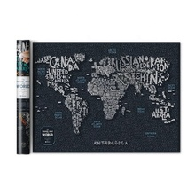 ZORAS Produce World Map Scratch Per I Rivenditori E Grossisti A Prezzi Bassi