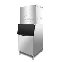 ICEMA Brain New Widely Used Professional 30~800kg Commercial Pure Drink Cube Ice Machine for Sale CE