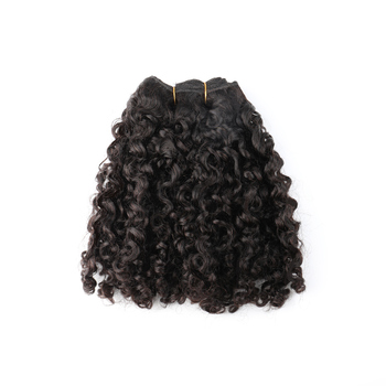 Bliss 10a 100% remy pixie curl Cuticle Aligned Double Drawn brazilian human Hair