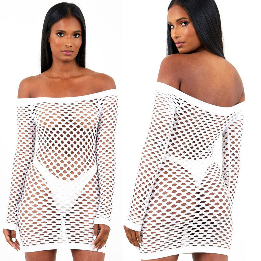 Summer New Design Women Beach Cover Up Bathing Suits Swimwear Bikini Crochet Dress