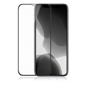 Manufacturer Wholesale Tempered Glass Screen Protector 9D Glass for Mobile Phone For iPhone 11 PRO