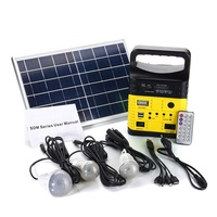 portable 10w solar panel lithium battery outdoor led solar light with torch
