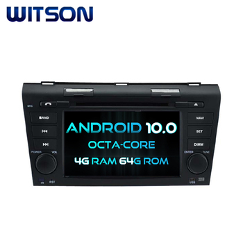 WITSON ANDROID 10.0 PLAYER FOR MAZDA android car dvd