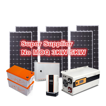 Solar Energy System Home , 3KW 5KW 7KW Home solar system , Solar power system Wholesale Other Solar Energy Related Products