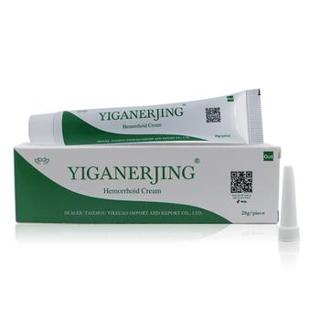 Chinese Hemorrhoid Ointment Cream Hemorrhoid Symptom Treatment Cream Yiganerjing Acne Cream 20g
