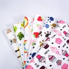 Custom Prints Interlock 100% cotton jersey knit fabric for baby Product