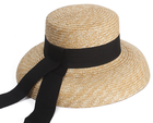 wholesale farmer colombian wayuu straw hats with embroidered for church