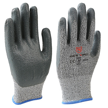 Seeway Cut Resistant with Coated Rubberex Nitrile Glove for Industrial Work