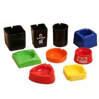 Chinese Factory customized good quality plastic portable wholesale ashtray