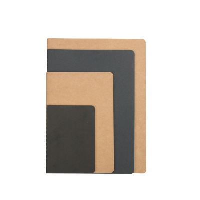 Factory direct thickened car line notebook simple kraft paper a5 b5 notebook notepad custom LOGO