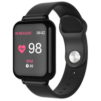 Amazon hot selling heart rate monitor b57 smart band