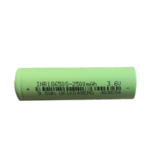 NCR <span class=keywords><strong>18650</strong></span> Li-Ion lithium-batterie 2500mAh 3,6 V 700 zyklus lebensdauer