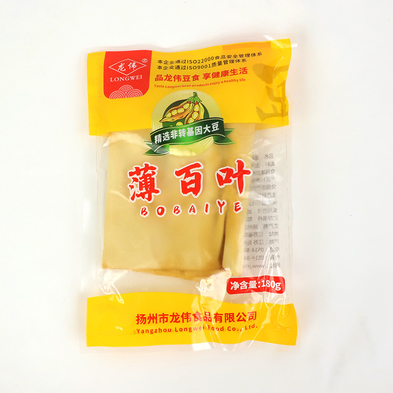 Bean curd silk skin oil bean skin salad dried agricultural bean curd bamboo silk