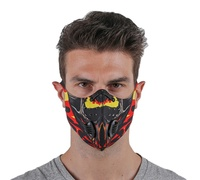 2020 new printed camouflage bicycle cycling neoprene face cover with ear loop