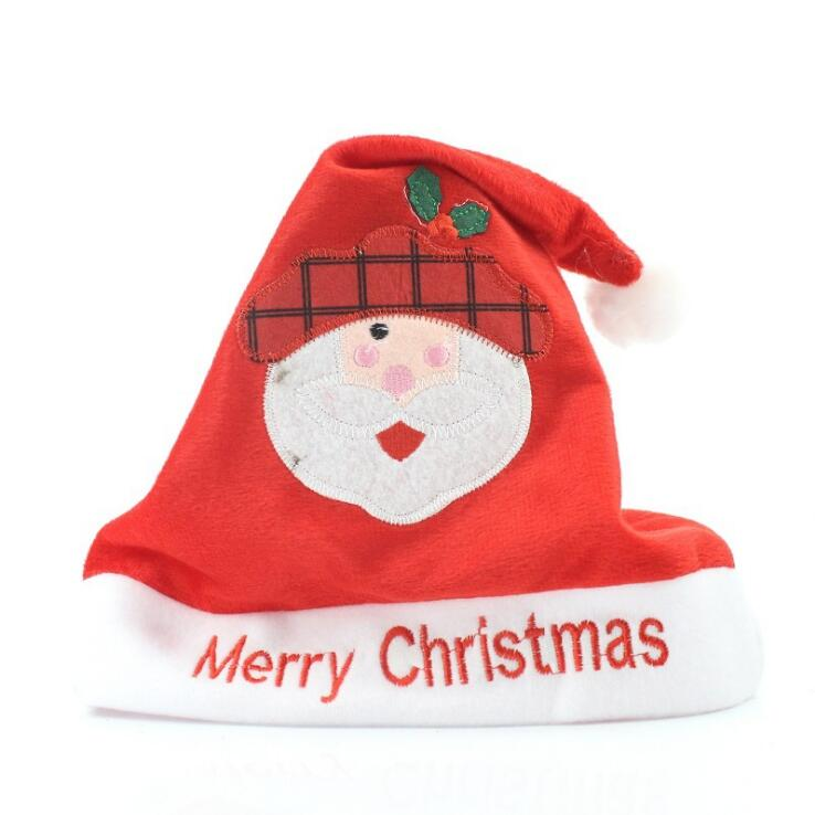 Best selling fancy style Christmas decoration wholesale old man snowman antlers funny Christmas hats for adults and kids