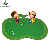 2019 Apple Mini Golf Putting Green Indoor Funny High Quality Grass Factory Wholesale Golf Green OEM Golf Course Green