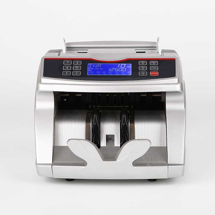 Bill counter machine have counting and checking money
