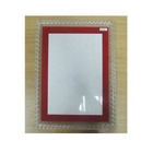 Photo Hot ODM Manufacturing Acrylic PMMA Photo Frame Hot Bended Transparent With Silk Screening