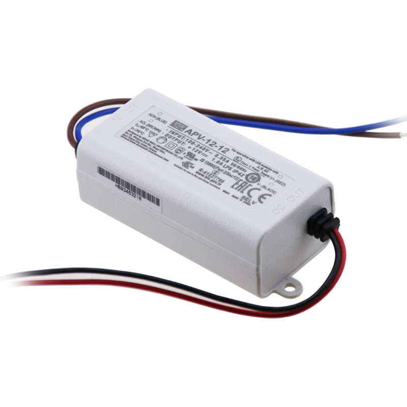 APV-12-12 ; Switching power supply LED power supply 12W 12V 1A ; MeanWell
