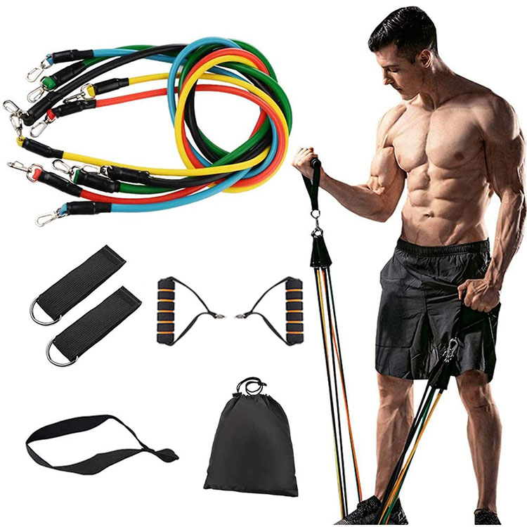 resistance bands 11 pcs