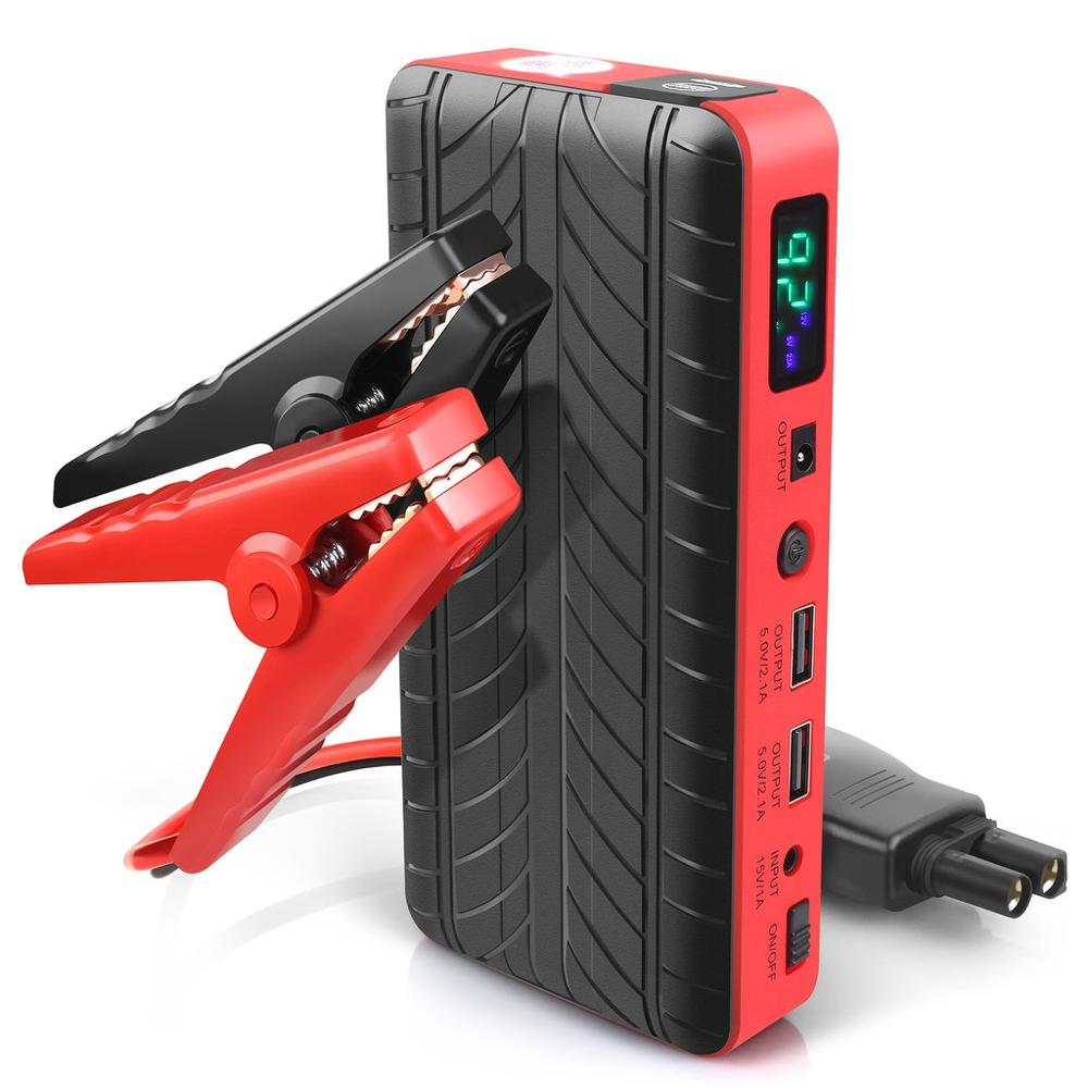 new 2019 inventions 18000mAh 600A slim portable jump starter for vehicles car jump starter