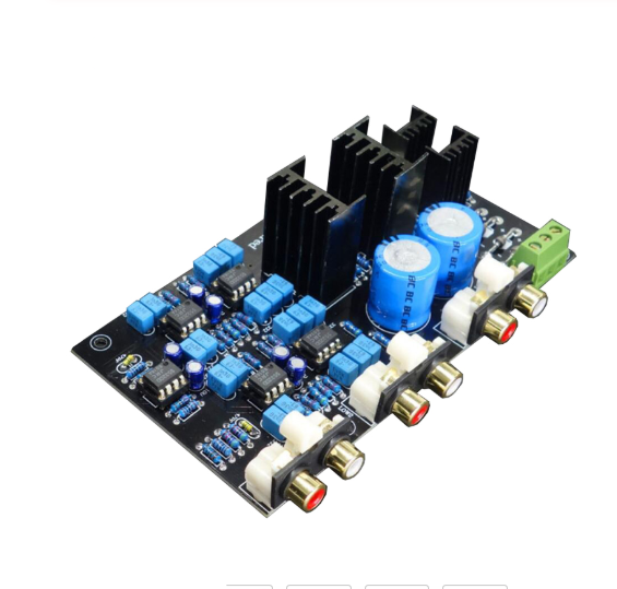 2 range 2 channel Speaker Active Frequency Divider Crossover Circuit DSP board