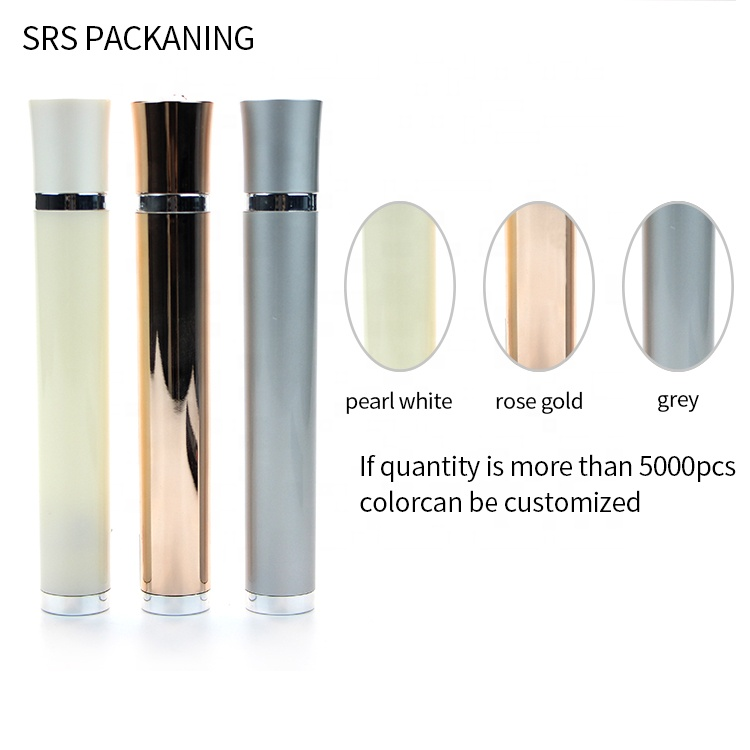 cosmetics packaging containers vibrating 10ml plastic roll on bottle