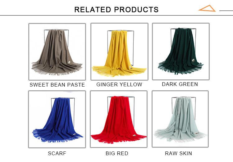 Al por mayor venta al por mayor nuevo moda simple de los hombres de la bufanda de la Cachemira