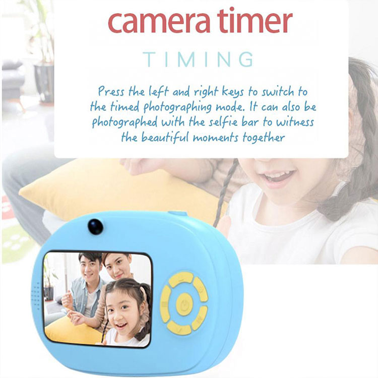 1080P HD Screen Free Shipping Mini Video DIY Frame Digital Cameras Kids Toys Photo Camera