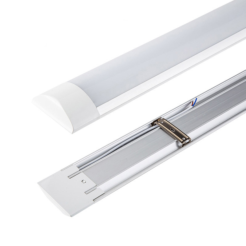 Guangzhou 100lm/w 1200mm 36w led batten tube light 3600lm smd2835 ac85-265v with OEM brand packing