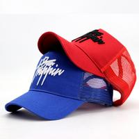 High Quality Wholesale Classic Custom Design Your Own 3D Embroidery Logo 5 Panel Gorras Mesh Trucker Caps Hats Mens