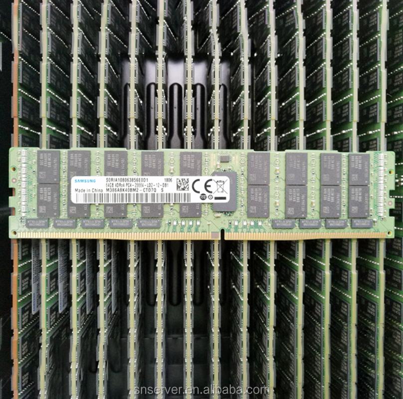 M386AAK40B40-CUC für Samsung 128GB PC4-19200 DDR4-2400MHz ECC Registered CL17 288-Pin Load Reduced DIMM 1.2V Octal Rank SY