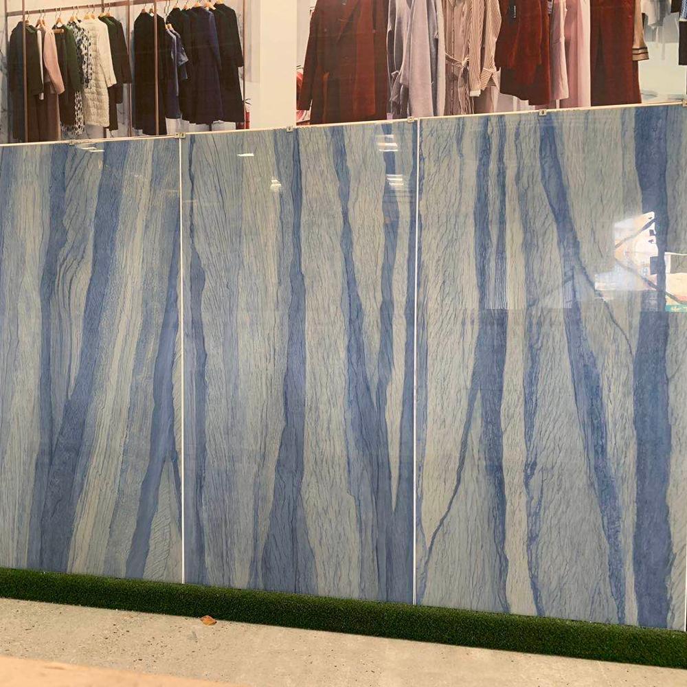 Chino Artificial sinterizado piedra azul cielo mármol divisiones