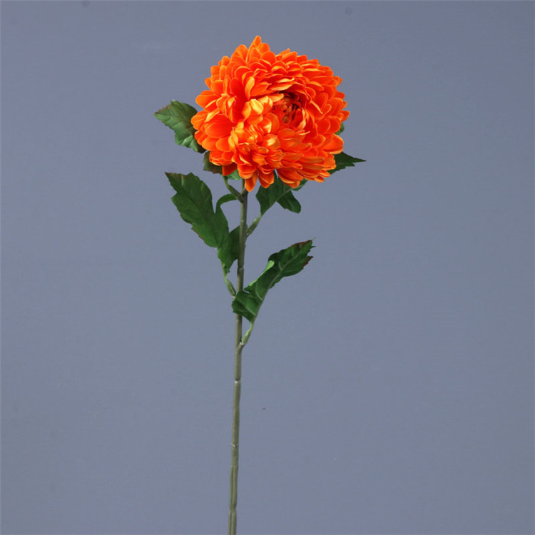Newly coming one stem chrysanthemum artificial flower for home decor