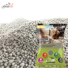 Apple scent round ball shape bentonite clay colored pet sand