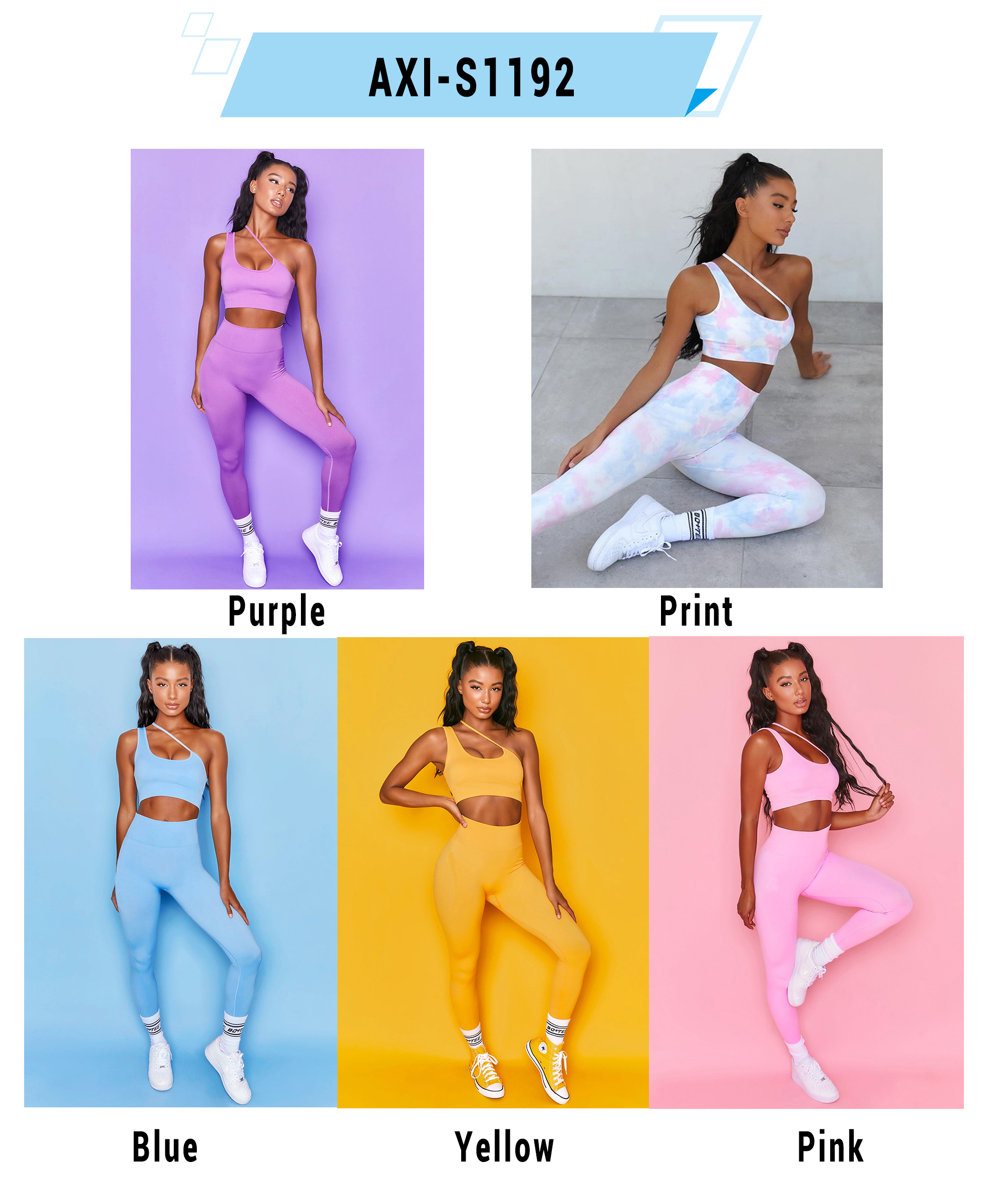 Factory Price 2020 Hot Selling Woman Seamless High Waist Yoga Sets